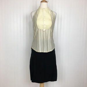 2 for $10 Aventura midi casual black skirt M